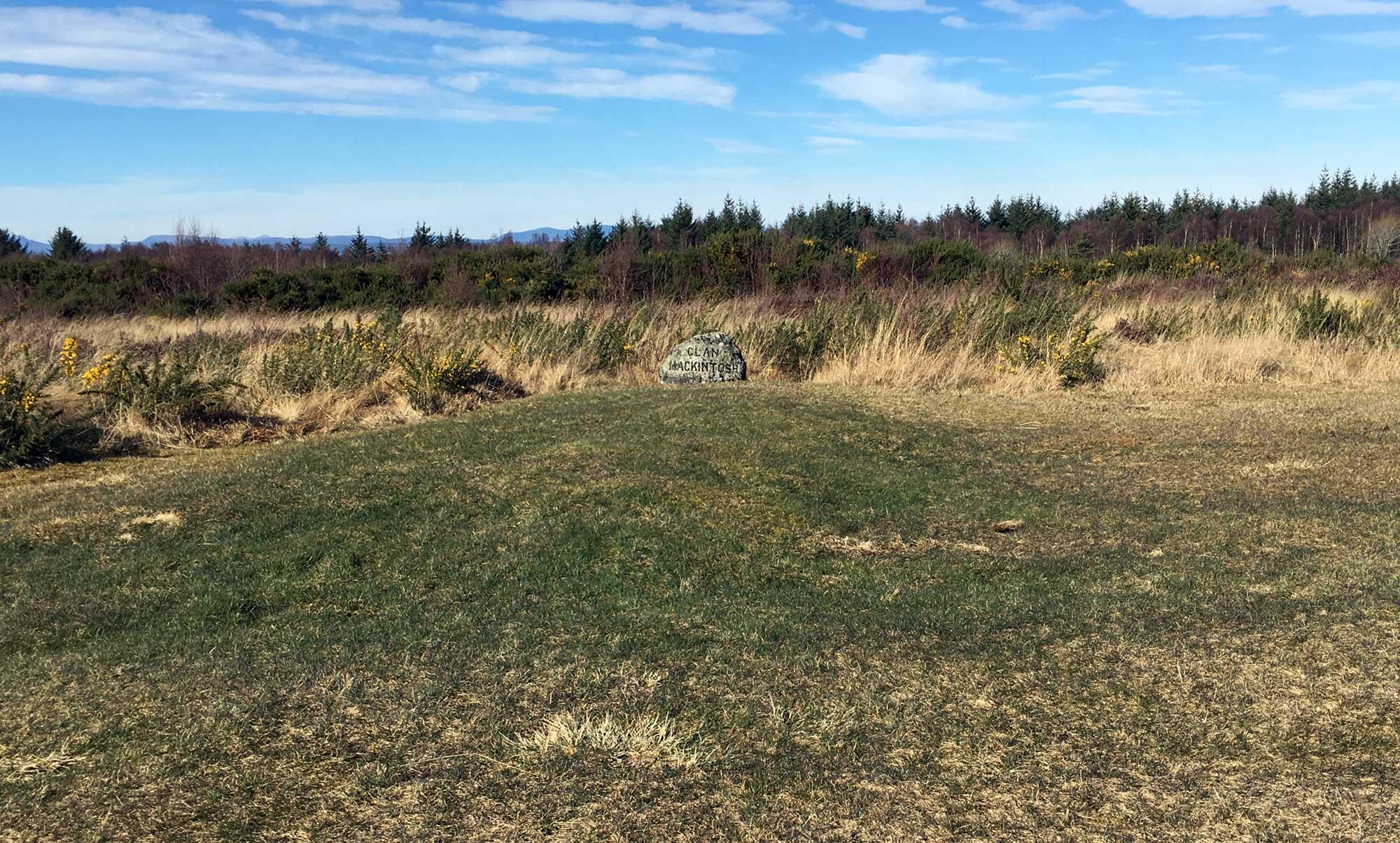Culloden Moor Battlefield Clan Stein Mackintosh