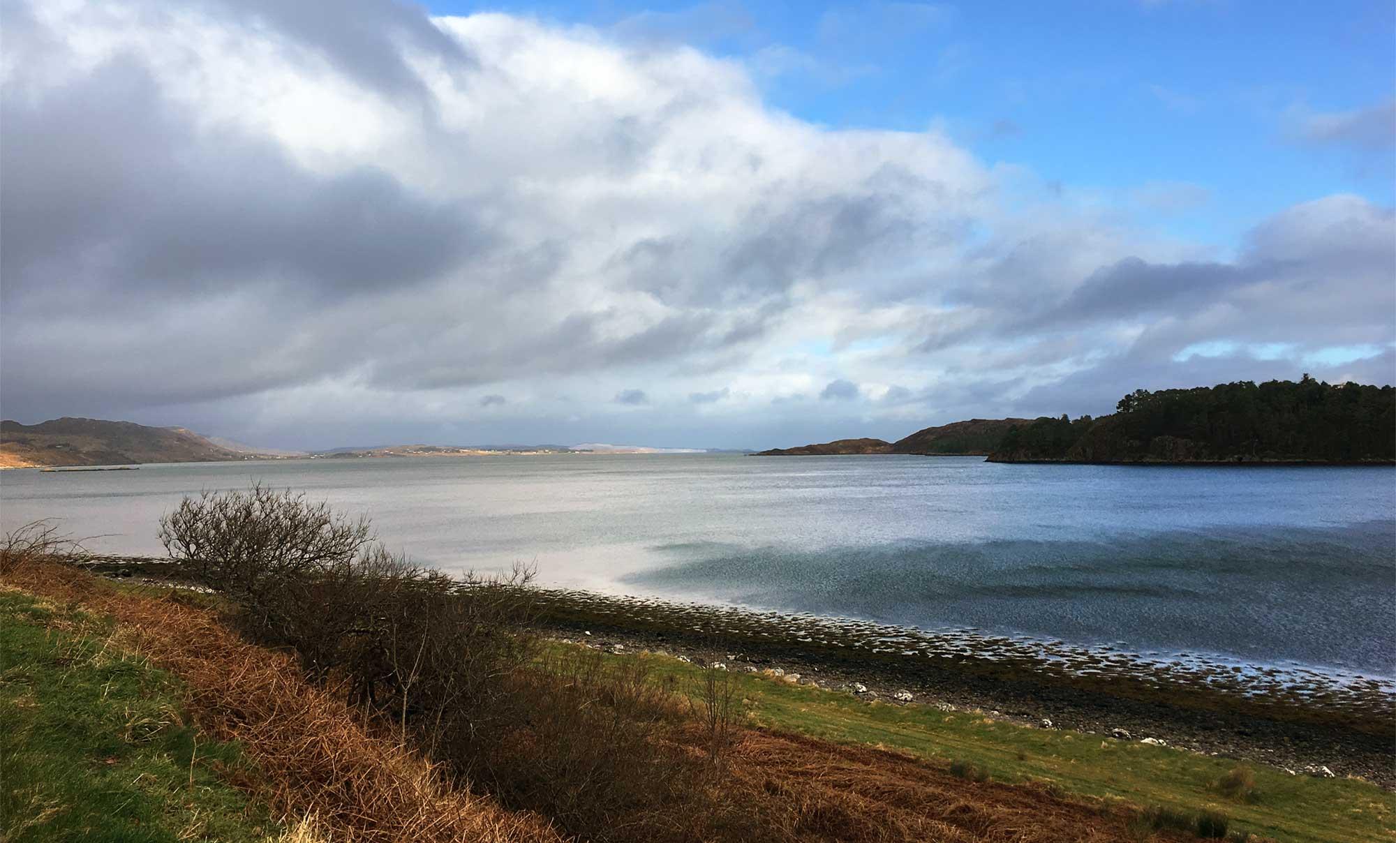 Loch Ewe von Poolewe
