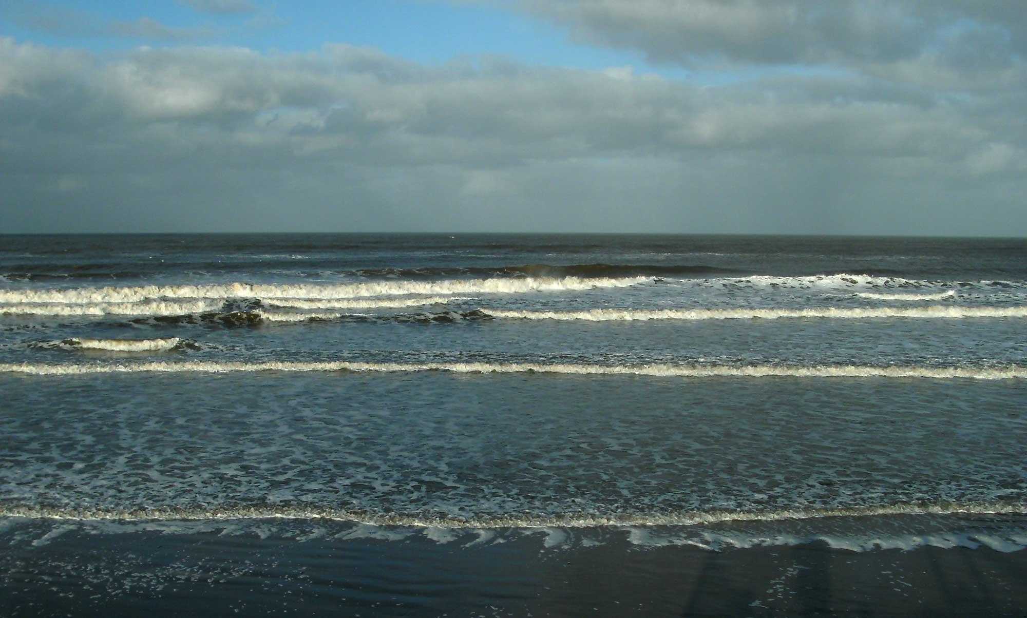 Whitley Beach Wellen