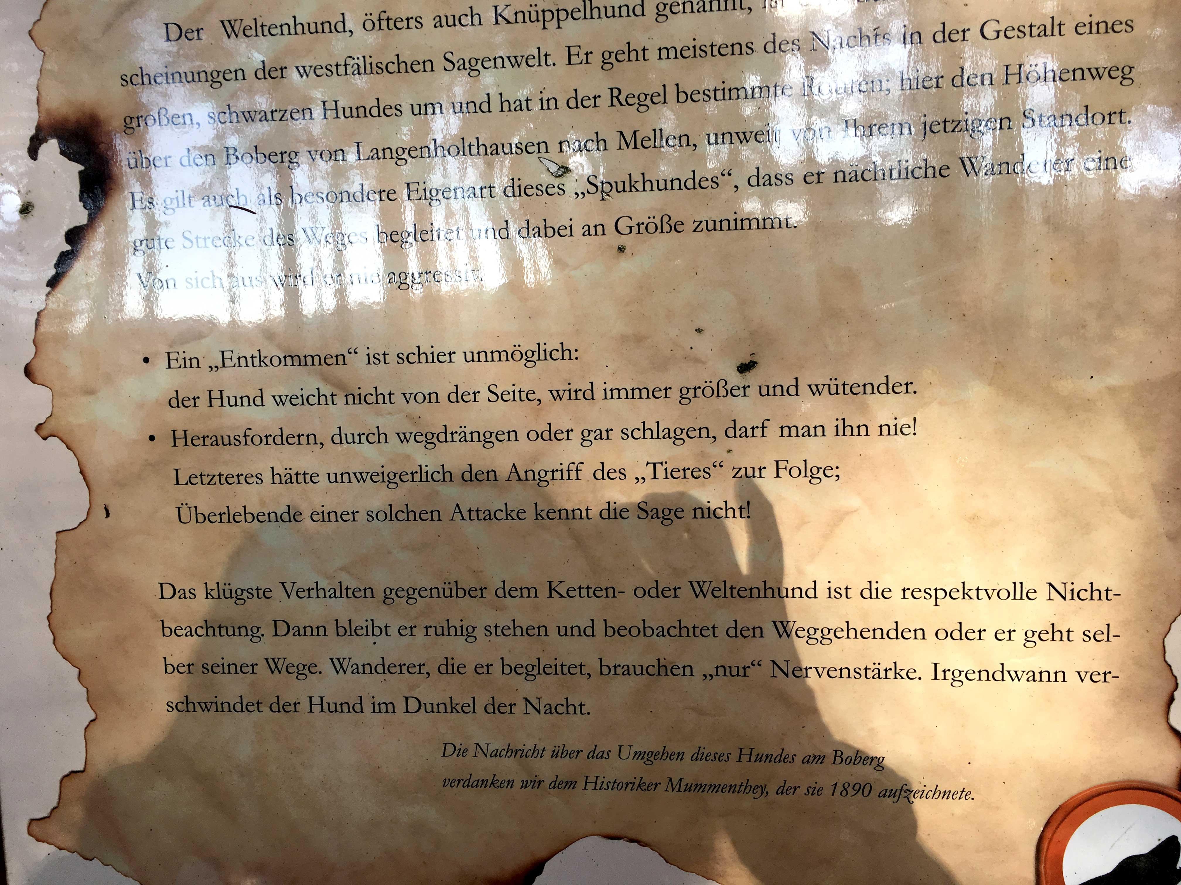 Die Geschichte vom Knüppelhund