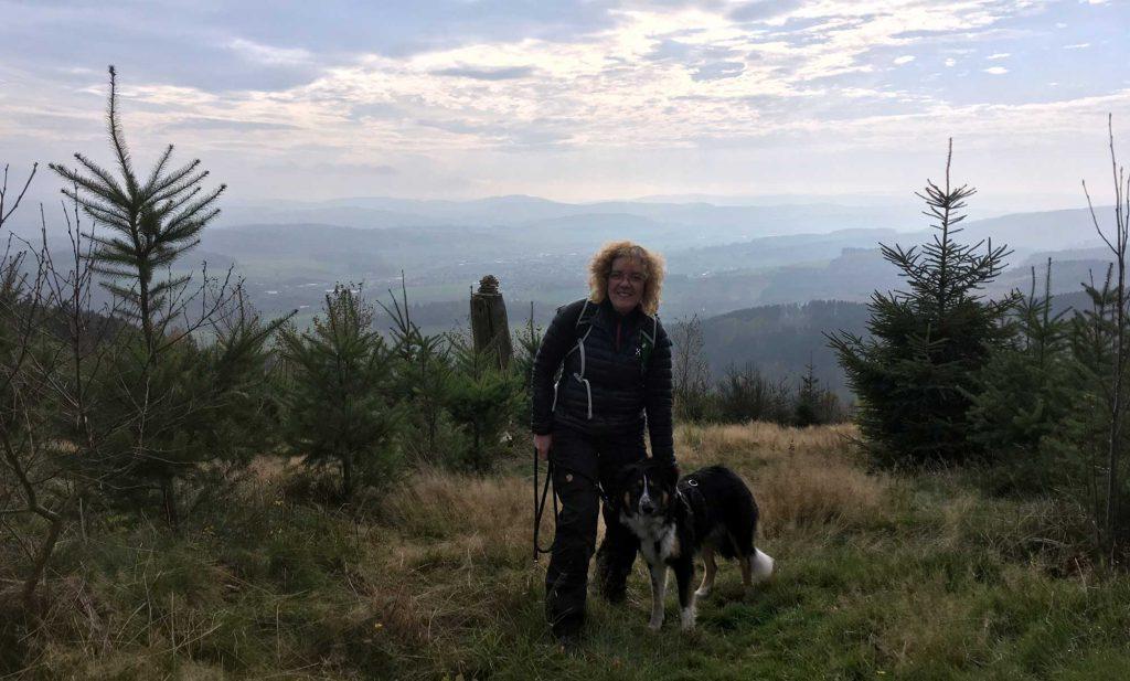 Sauerländer Waldroute Garbeck Panorama