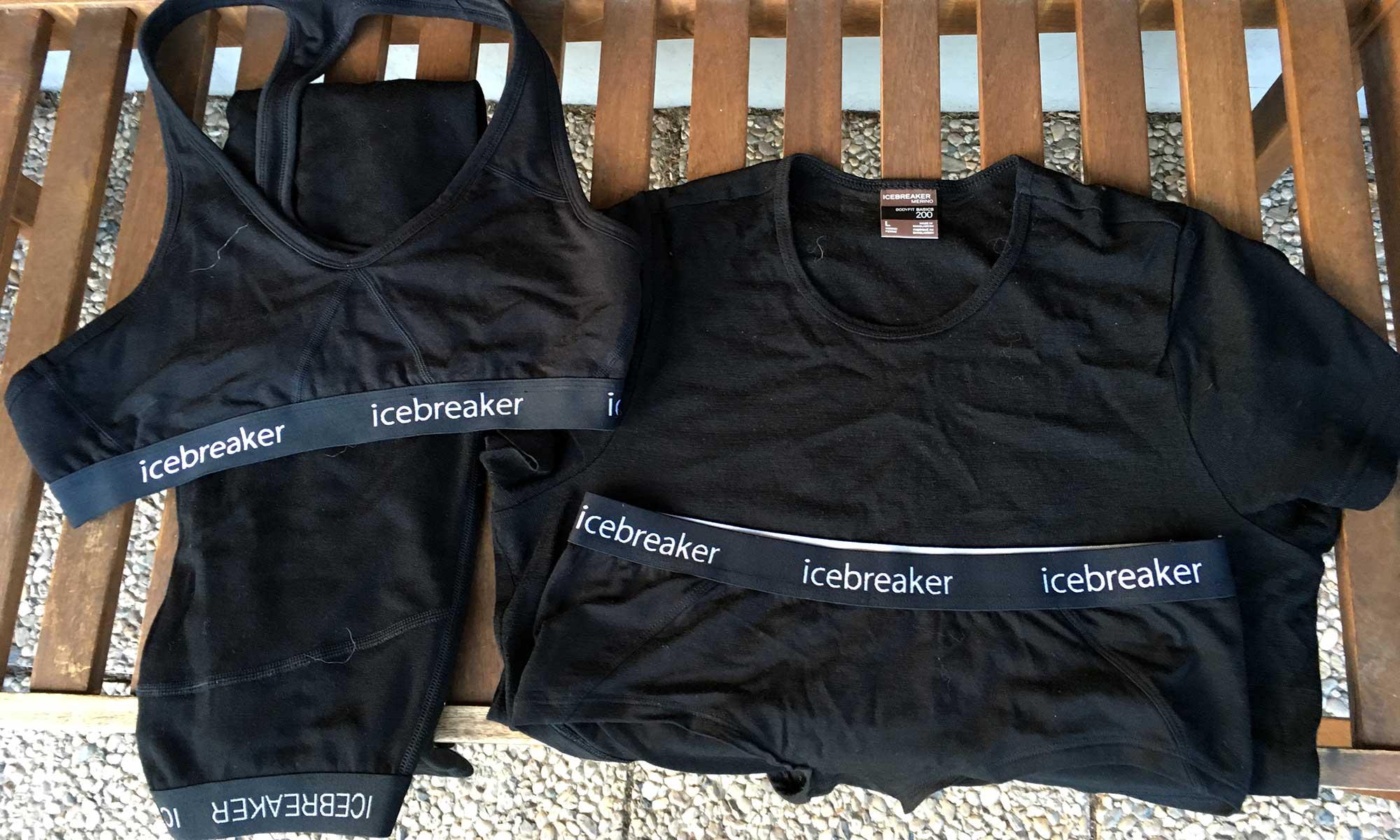 Icebreaker Merino Wolle Unterwäsche zum Wandern