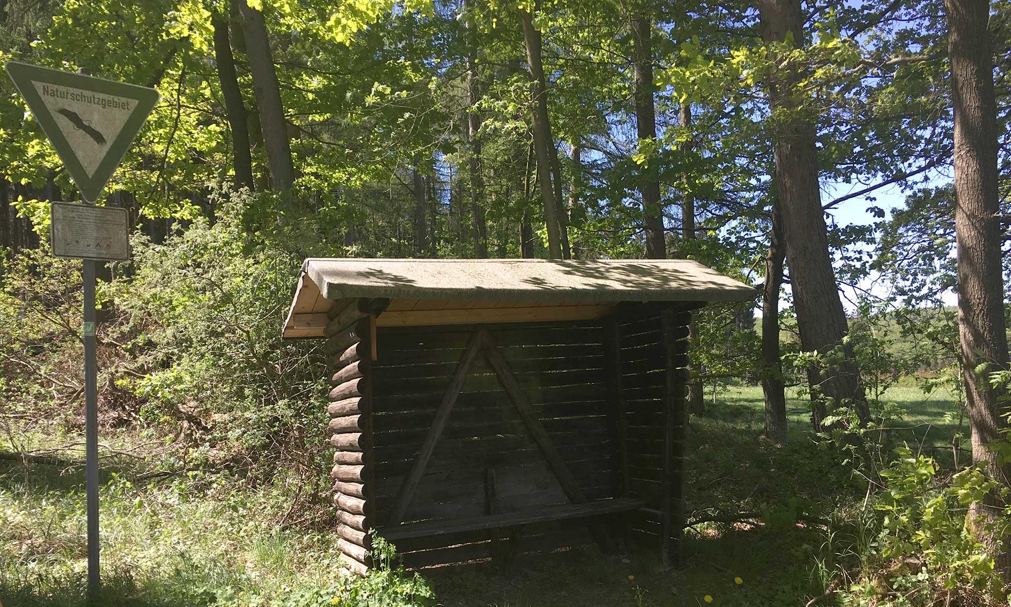 Sauerländer Waldroute Hirschberg Schutzhütte