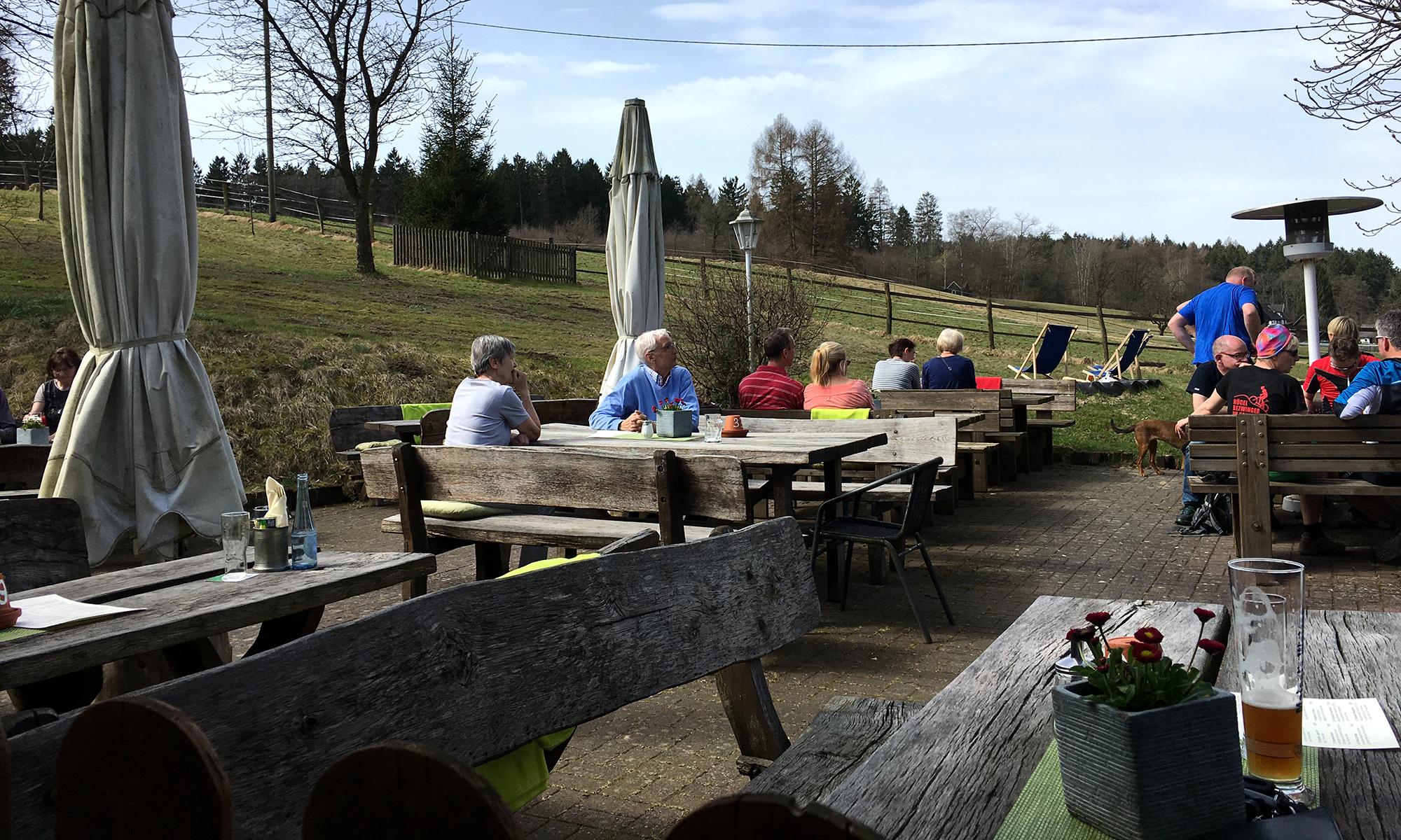 Biergarten Landgasthaus am Tackeberg