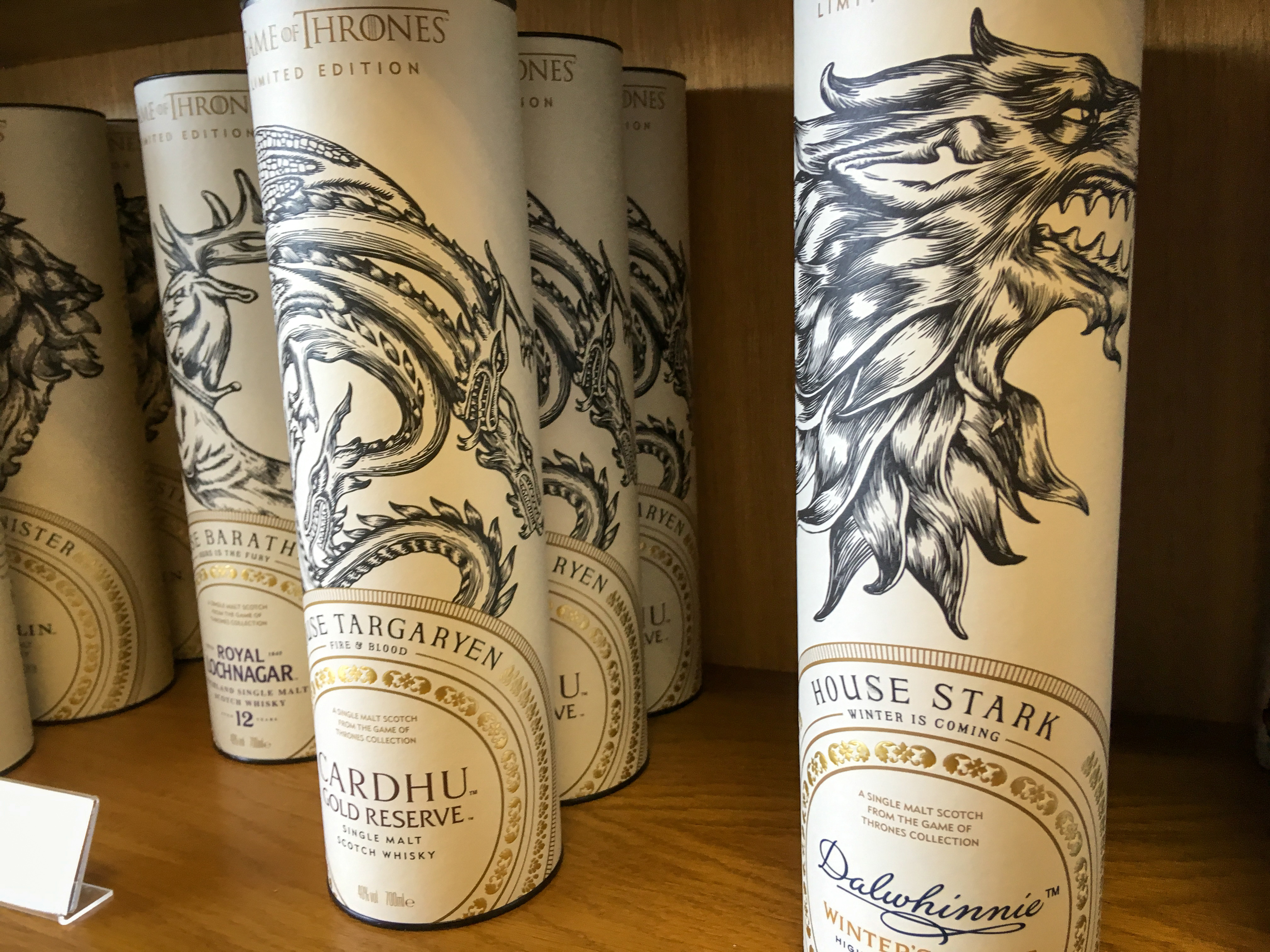 Sonderedition Game of Throne Whiskey