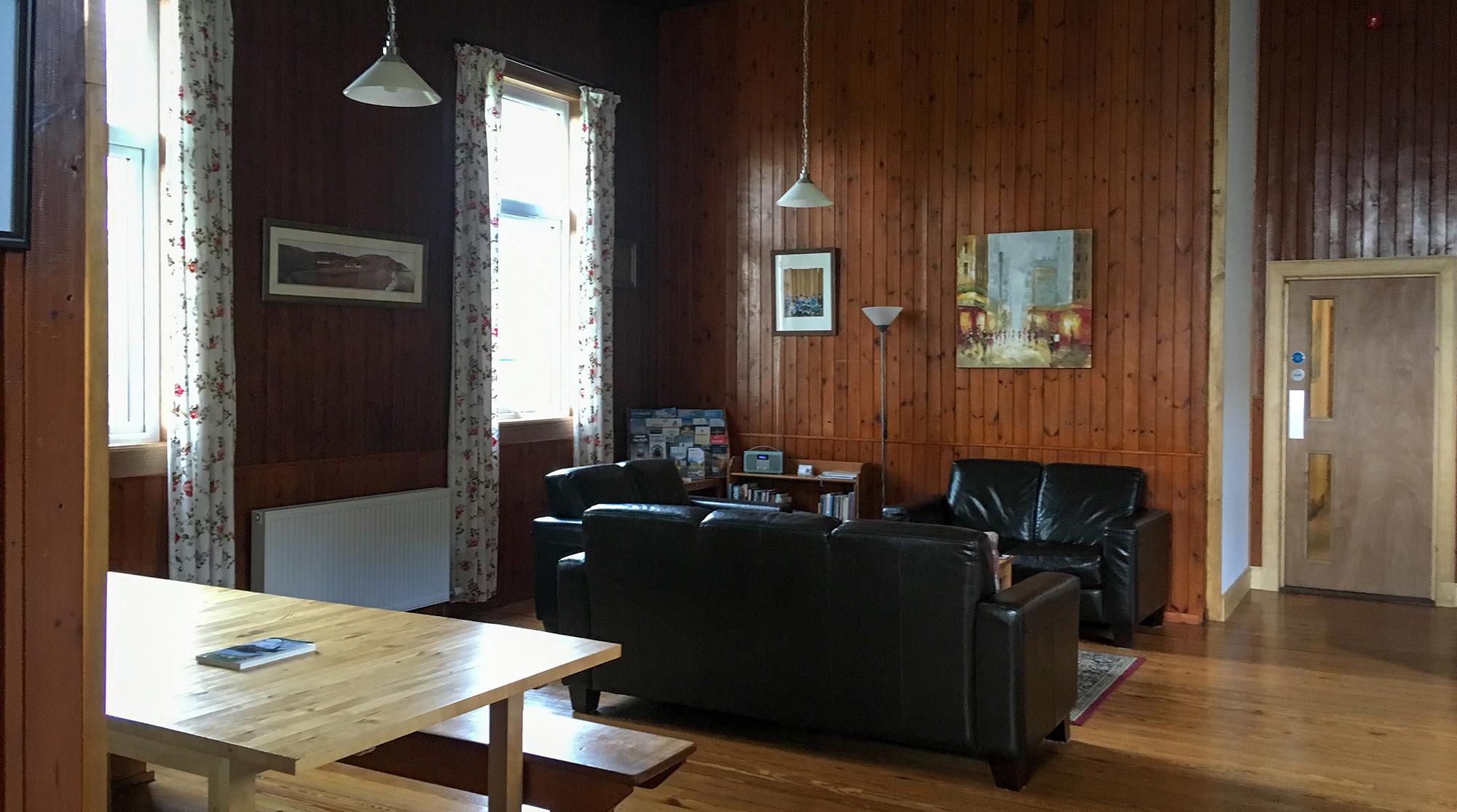 Helmsdale Hostel Aufenthaltsraum