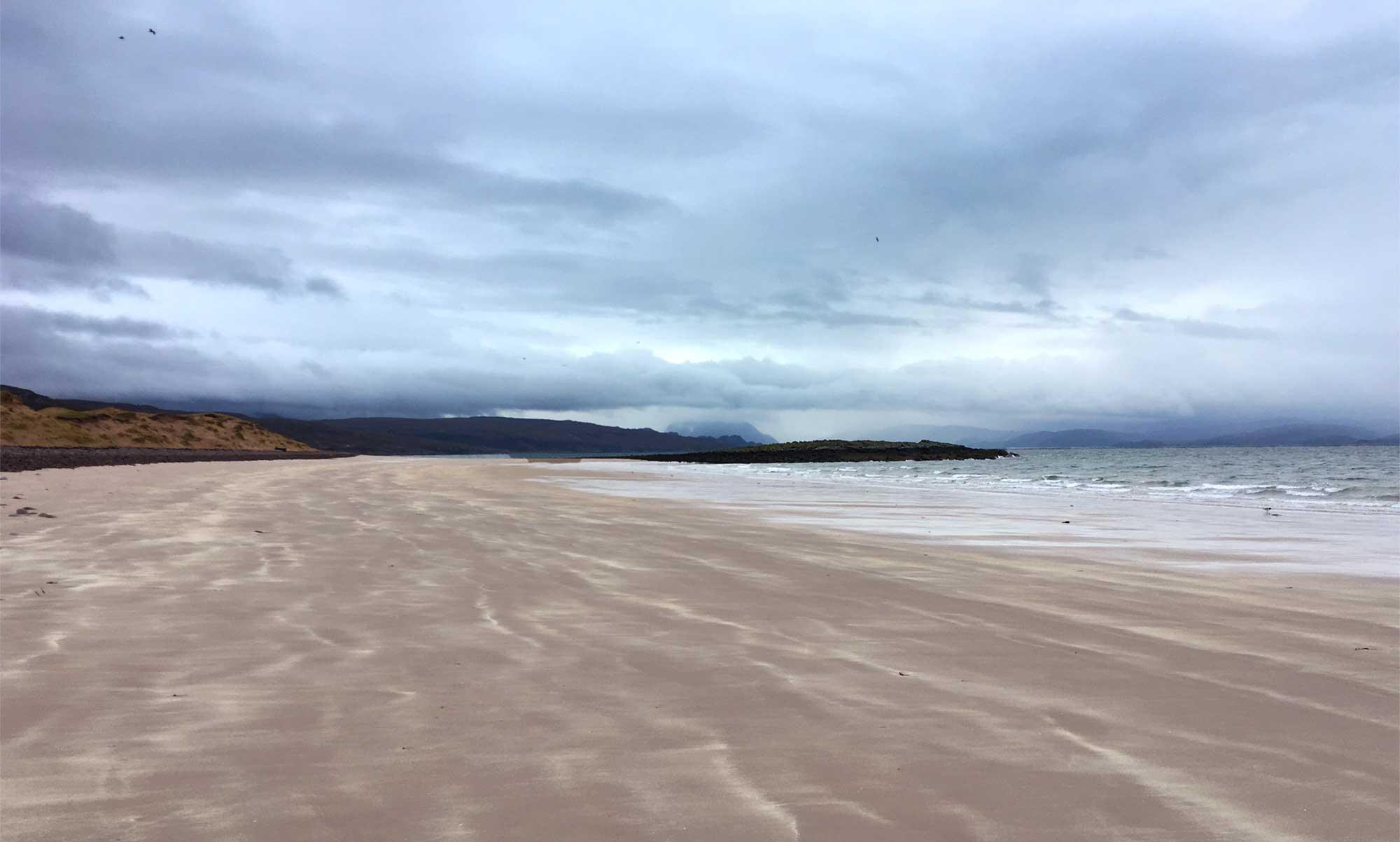 Sand und noch mehr Sand