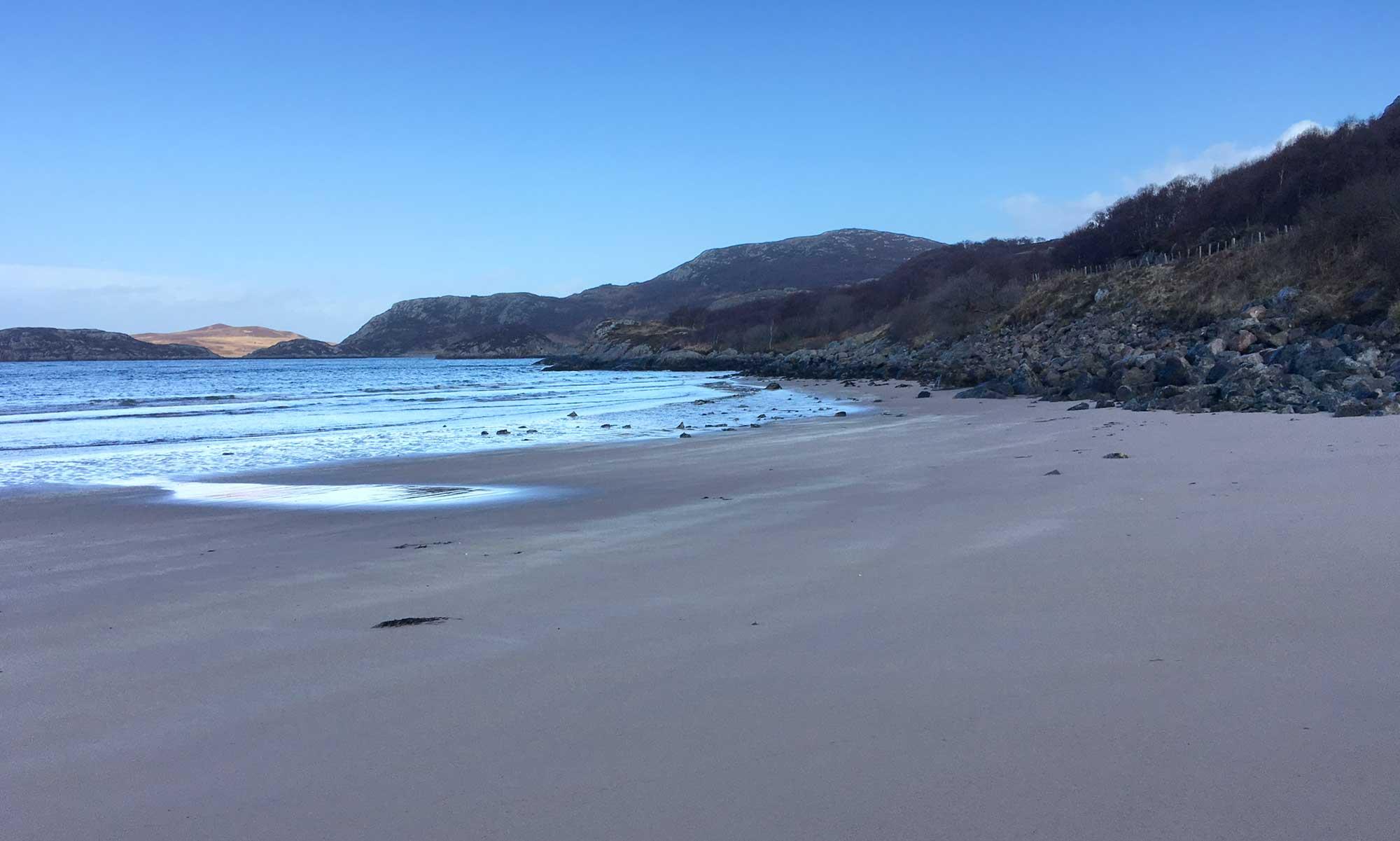 Gruinard Bay Beach