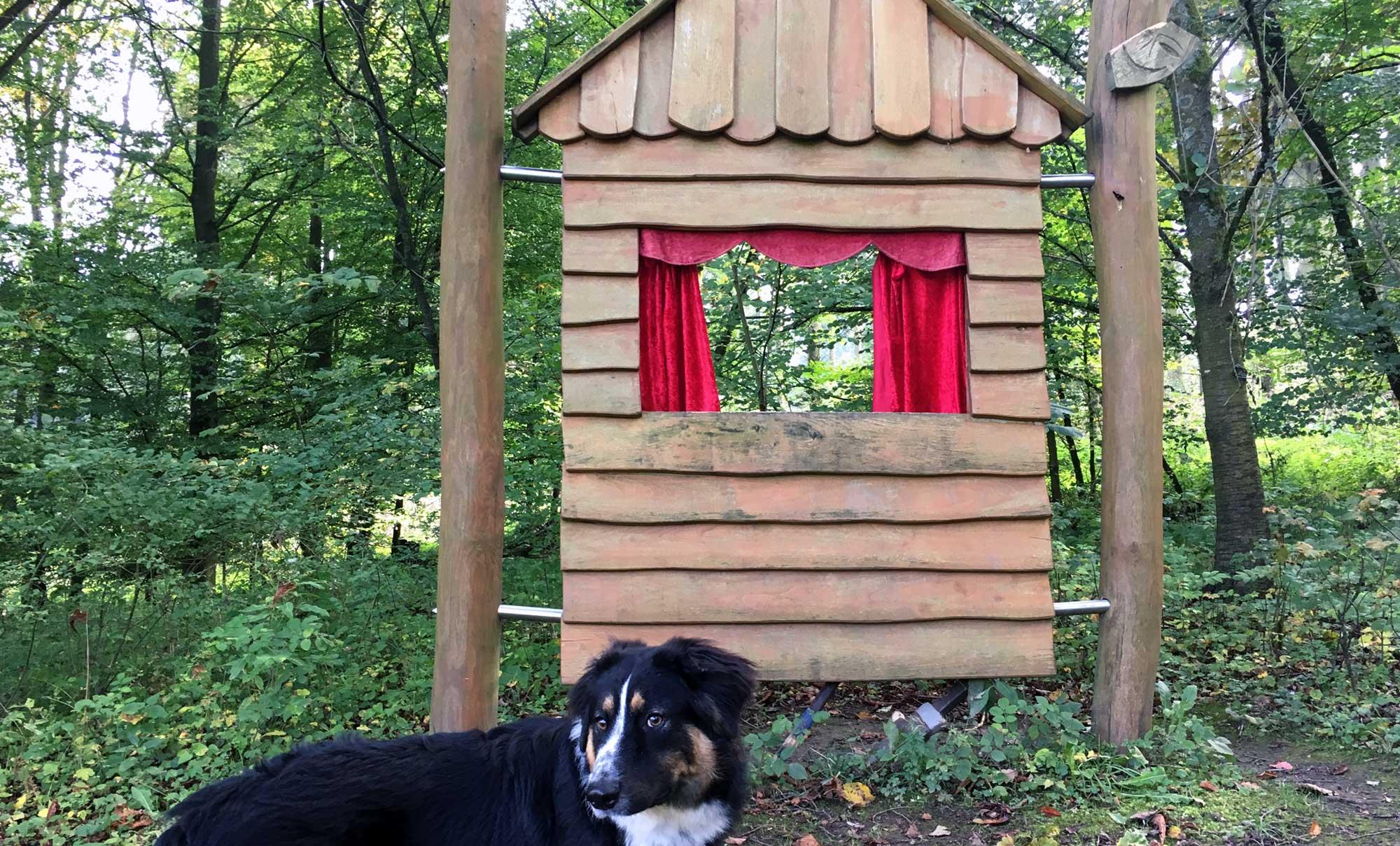 Kasperletheater am Waldpfad