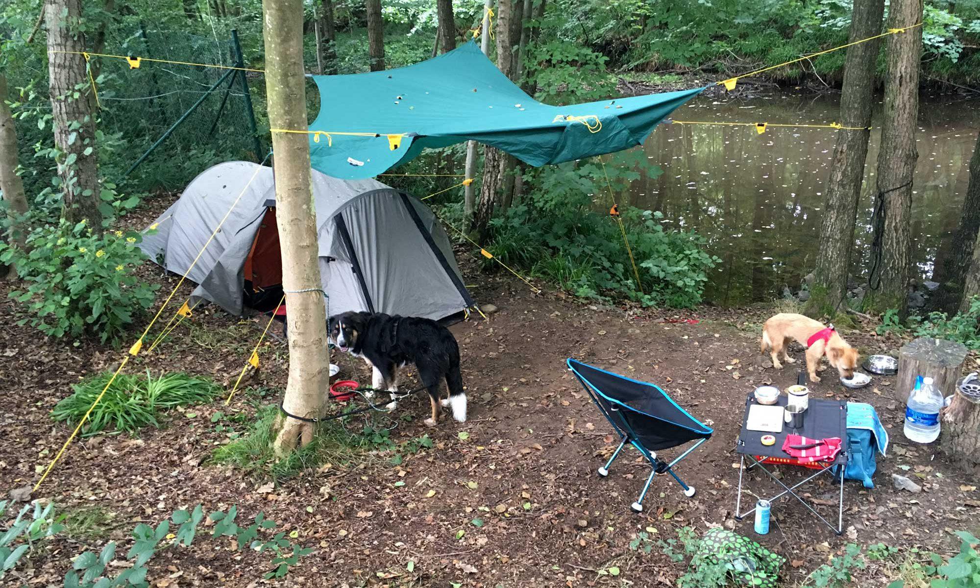 Natur Campingplatz Wesertal