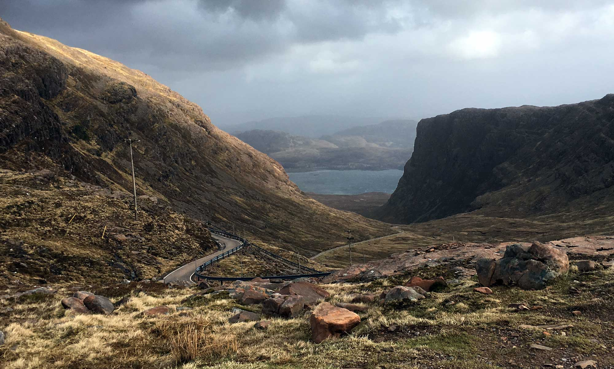 Der Applecross Pass