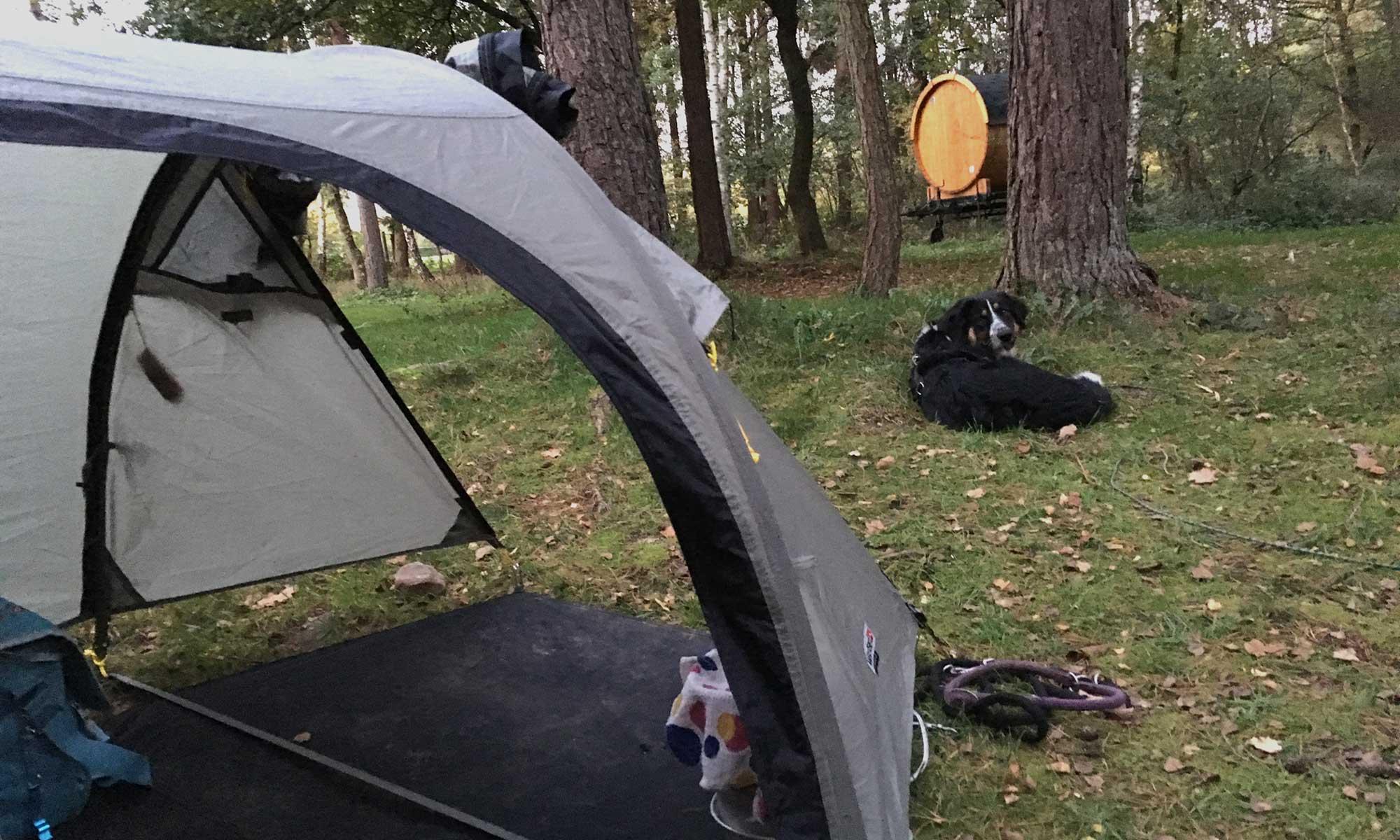 Campinplatz Wesertal ganz für uns allein