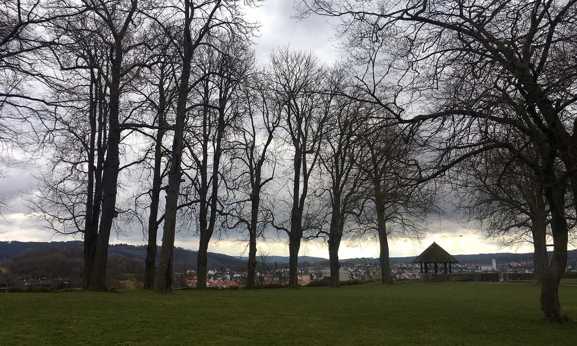 Schlossberg Arnsberg Park