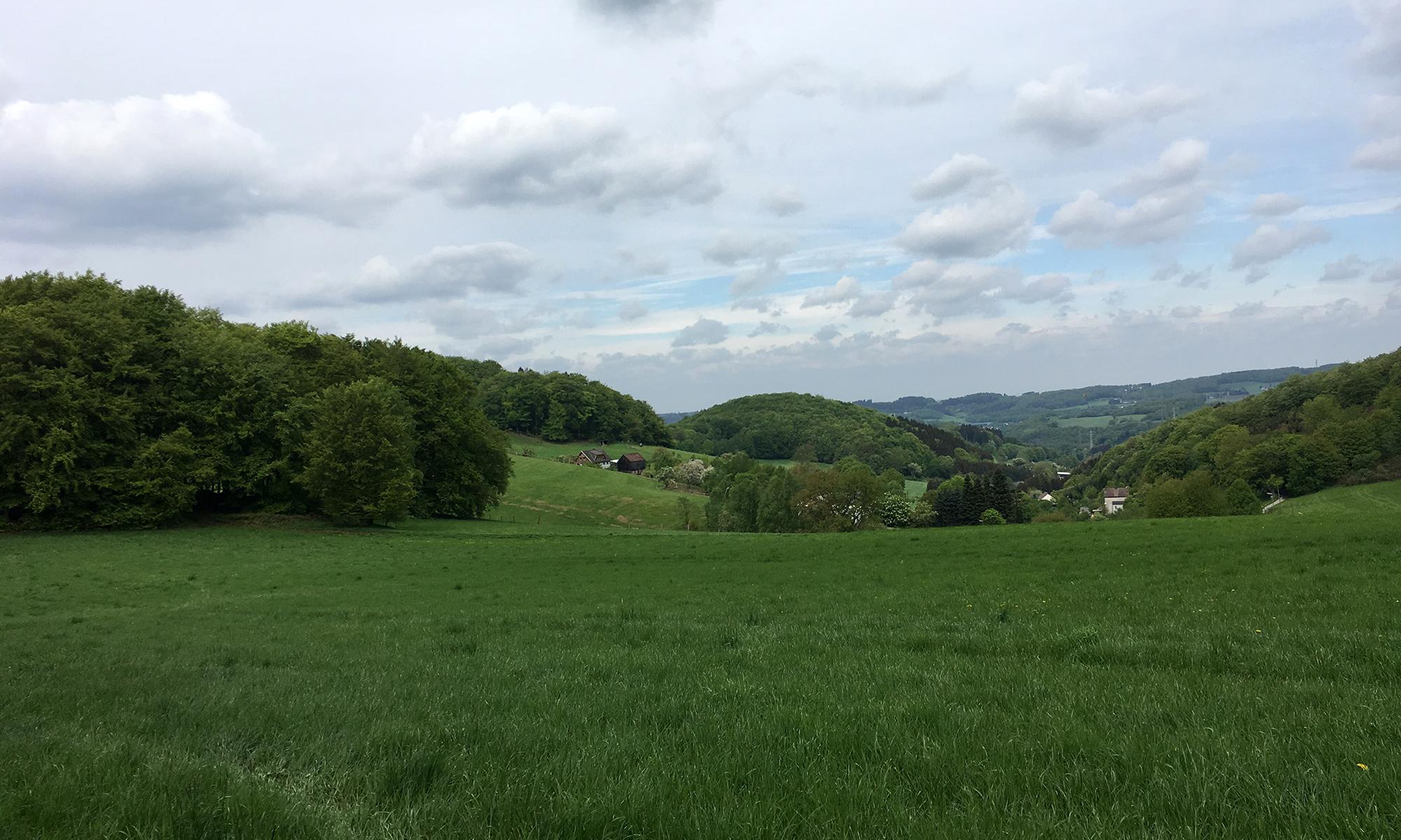 Weitblick nach Westen bei Stübke