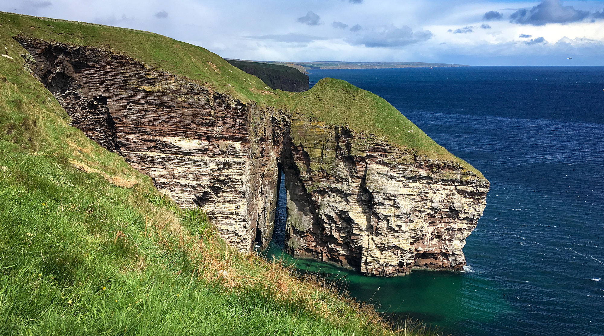 Klippe mit Seebogen An Dún