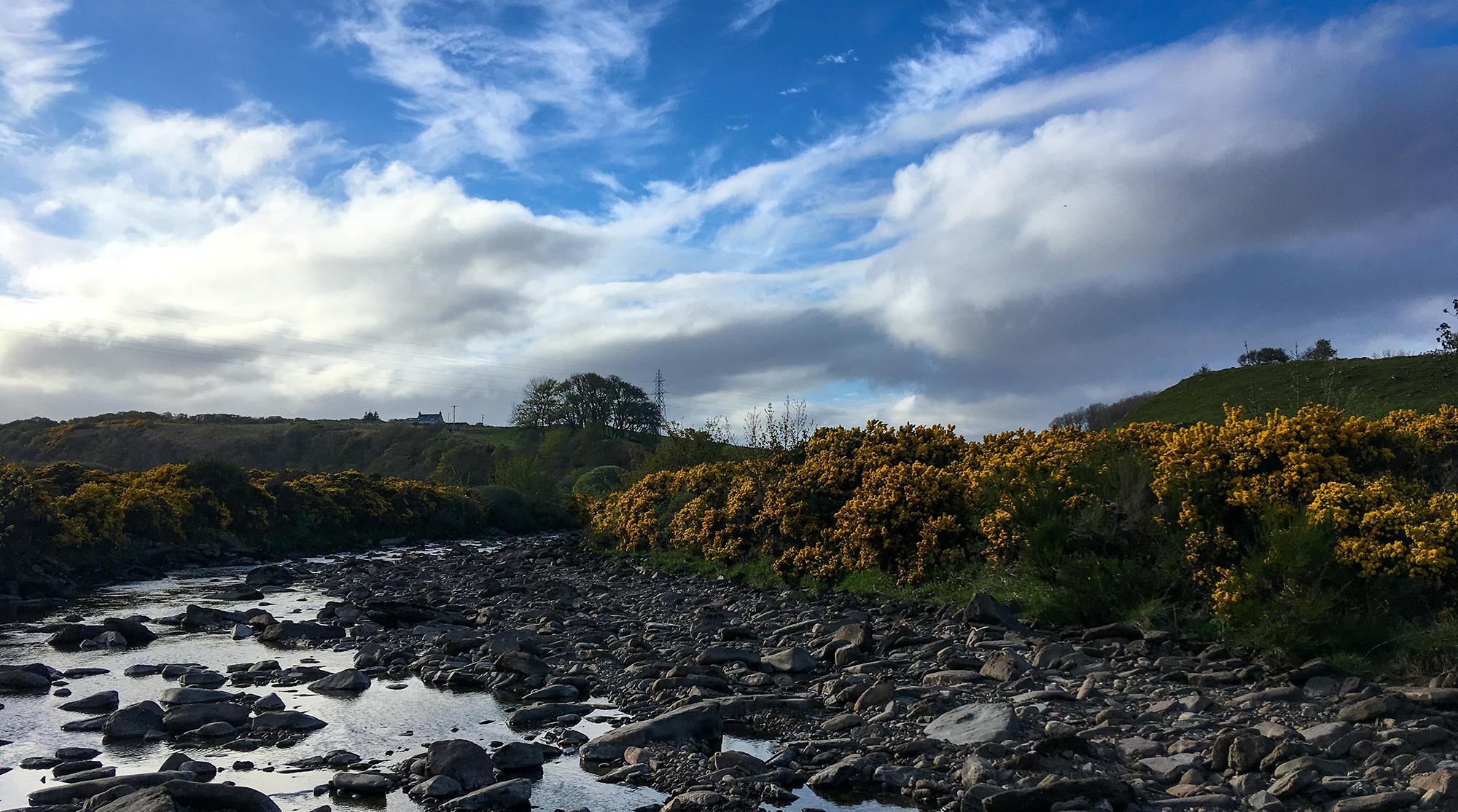 Der Fluss Dunbeath Water