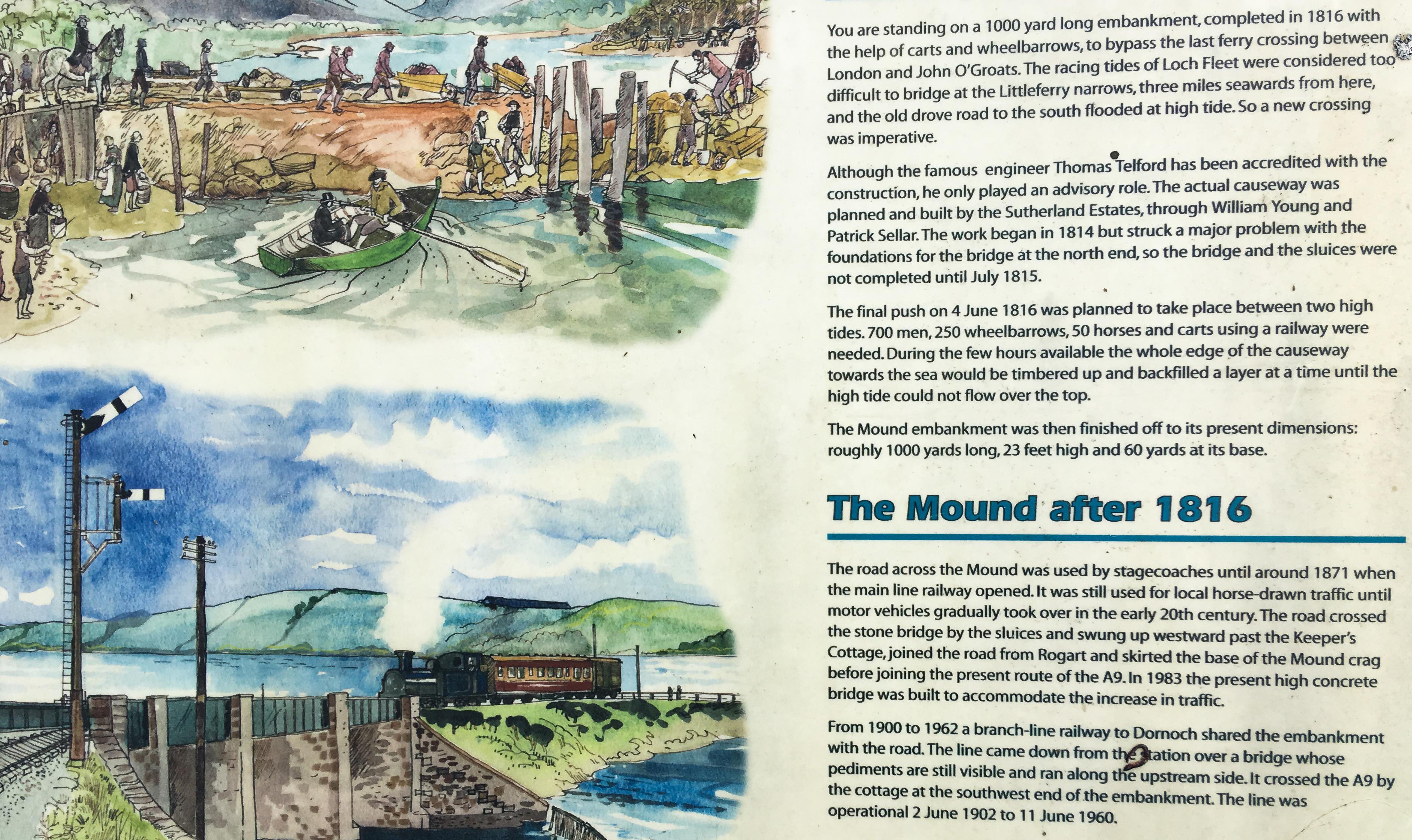 The Mount am Loch Fleet Beschreibung