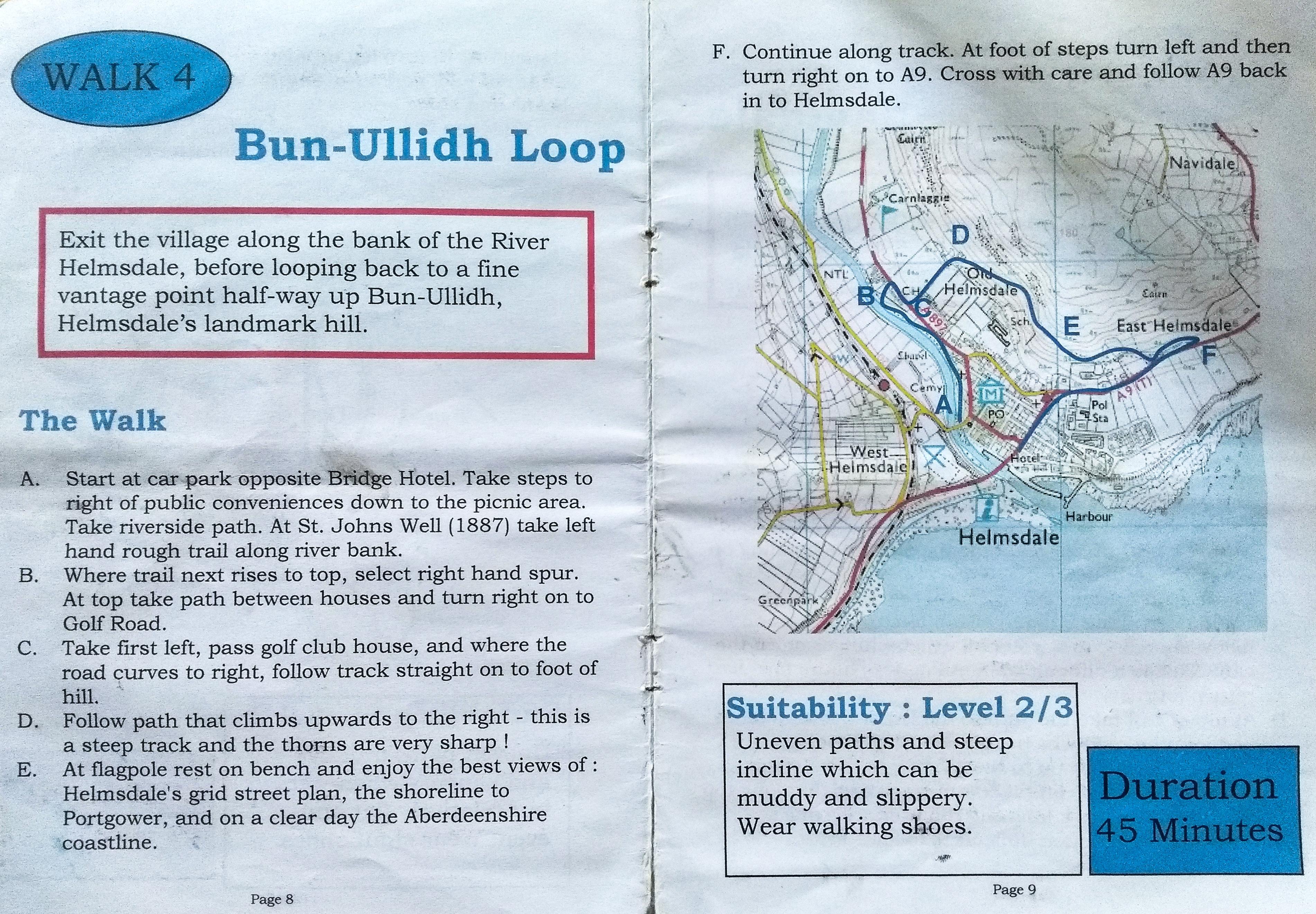 Wandertag Bun-Ullidhh