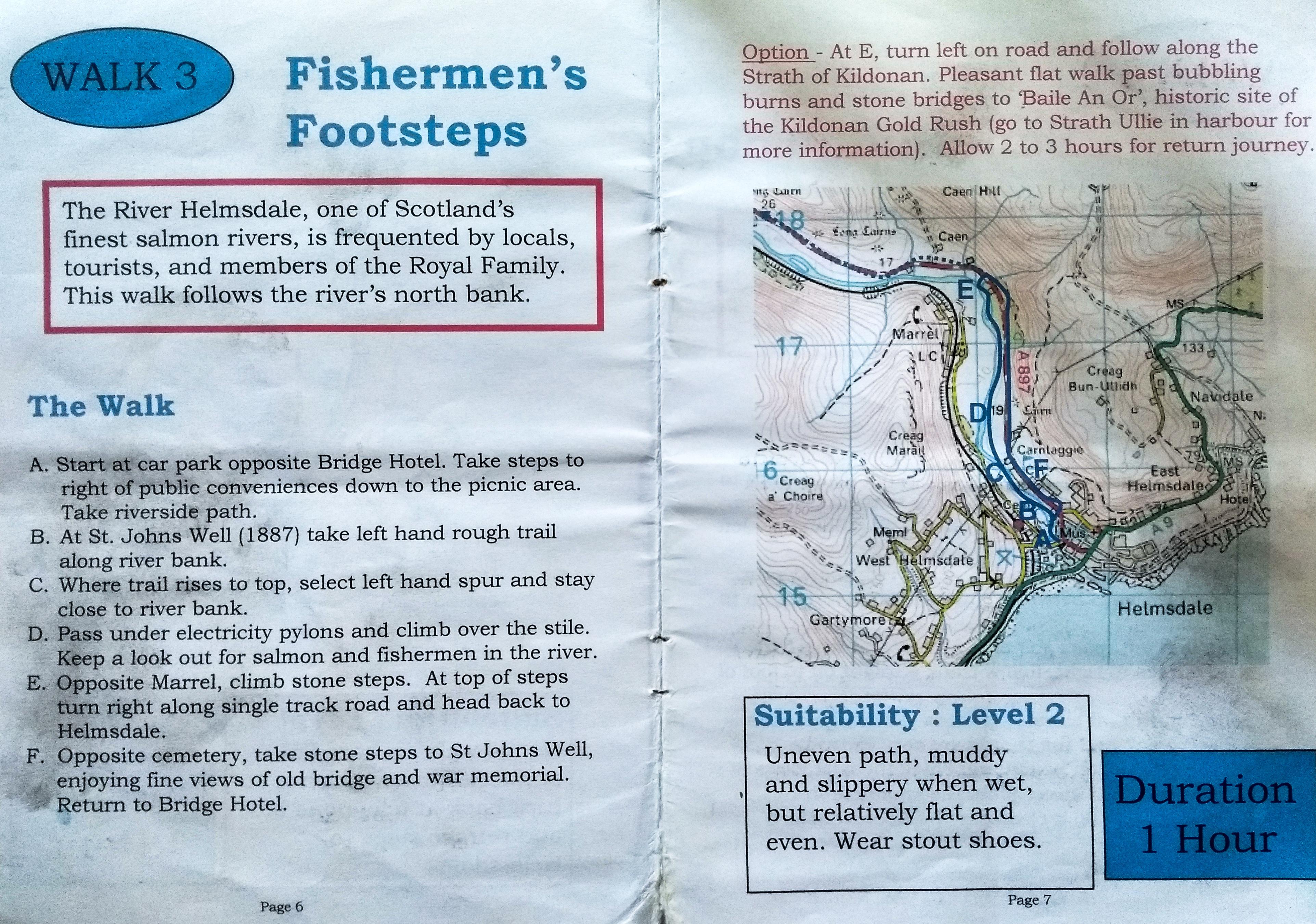 Wandertag Fishermen's Footstep