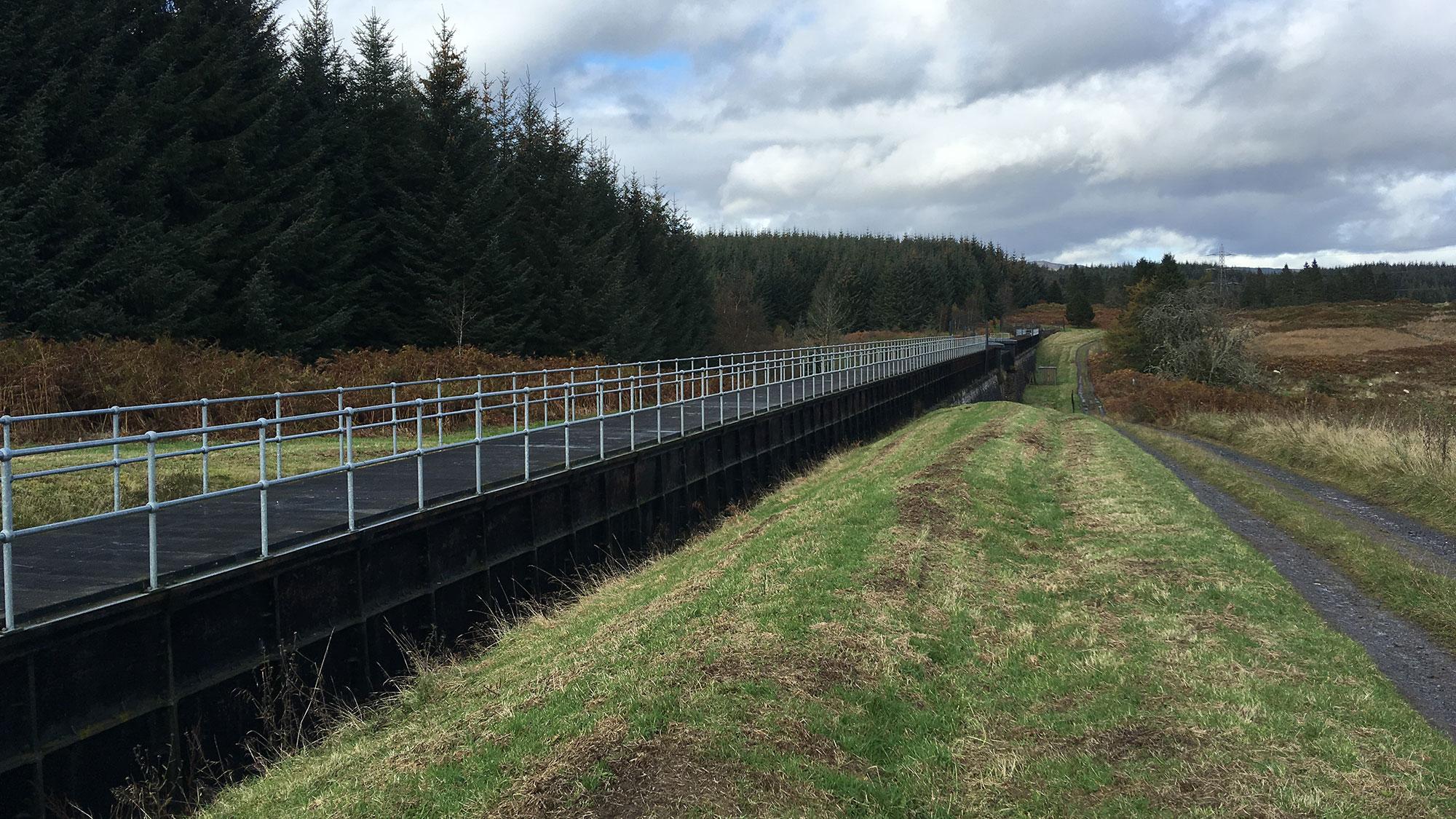 Corrie Aquaduct am Rob Roy Way