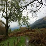 Creag Liath am Loch Lubnaig