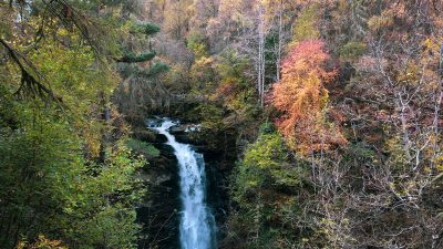 Falls of Moness bei Aberfeldy