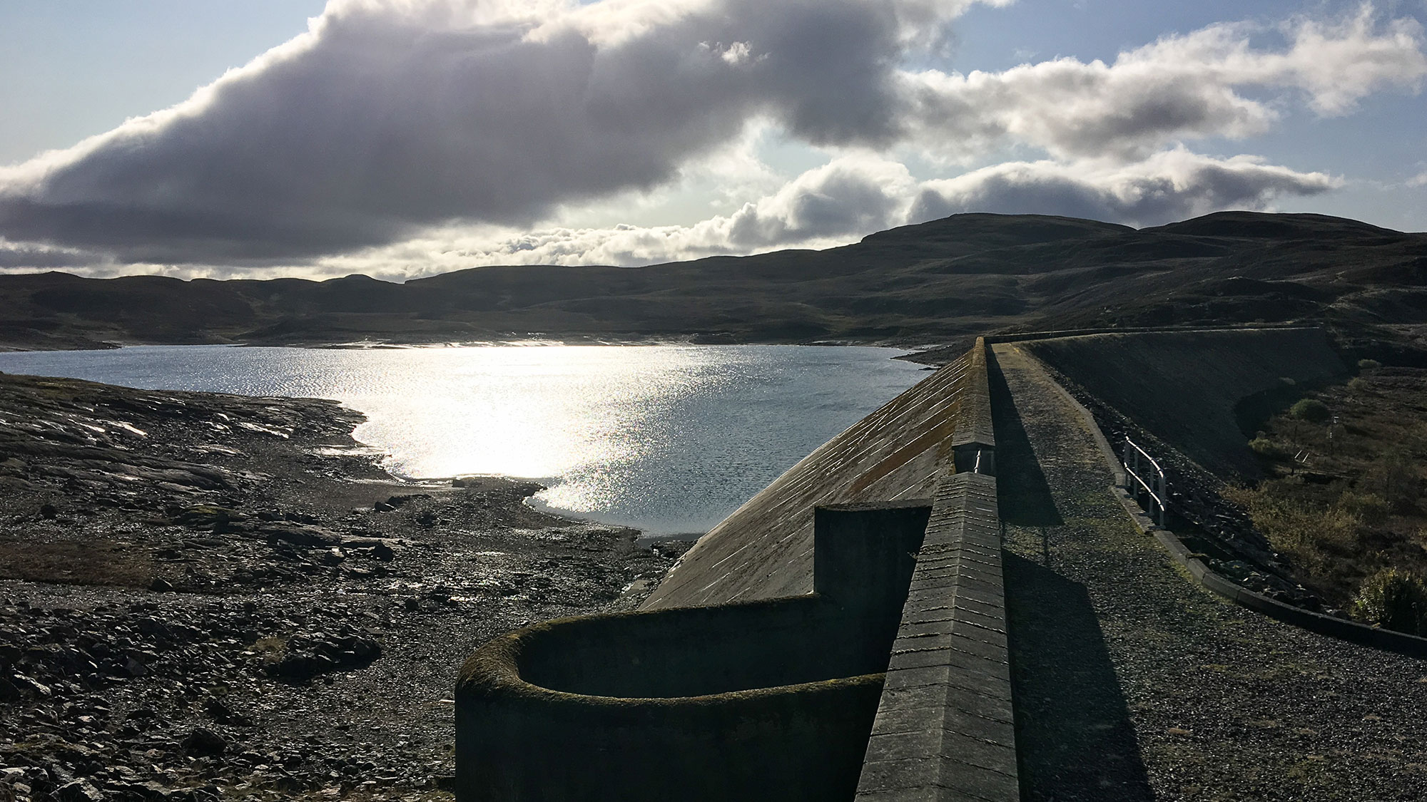 Lochan Breaclaich Staudamm