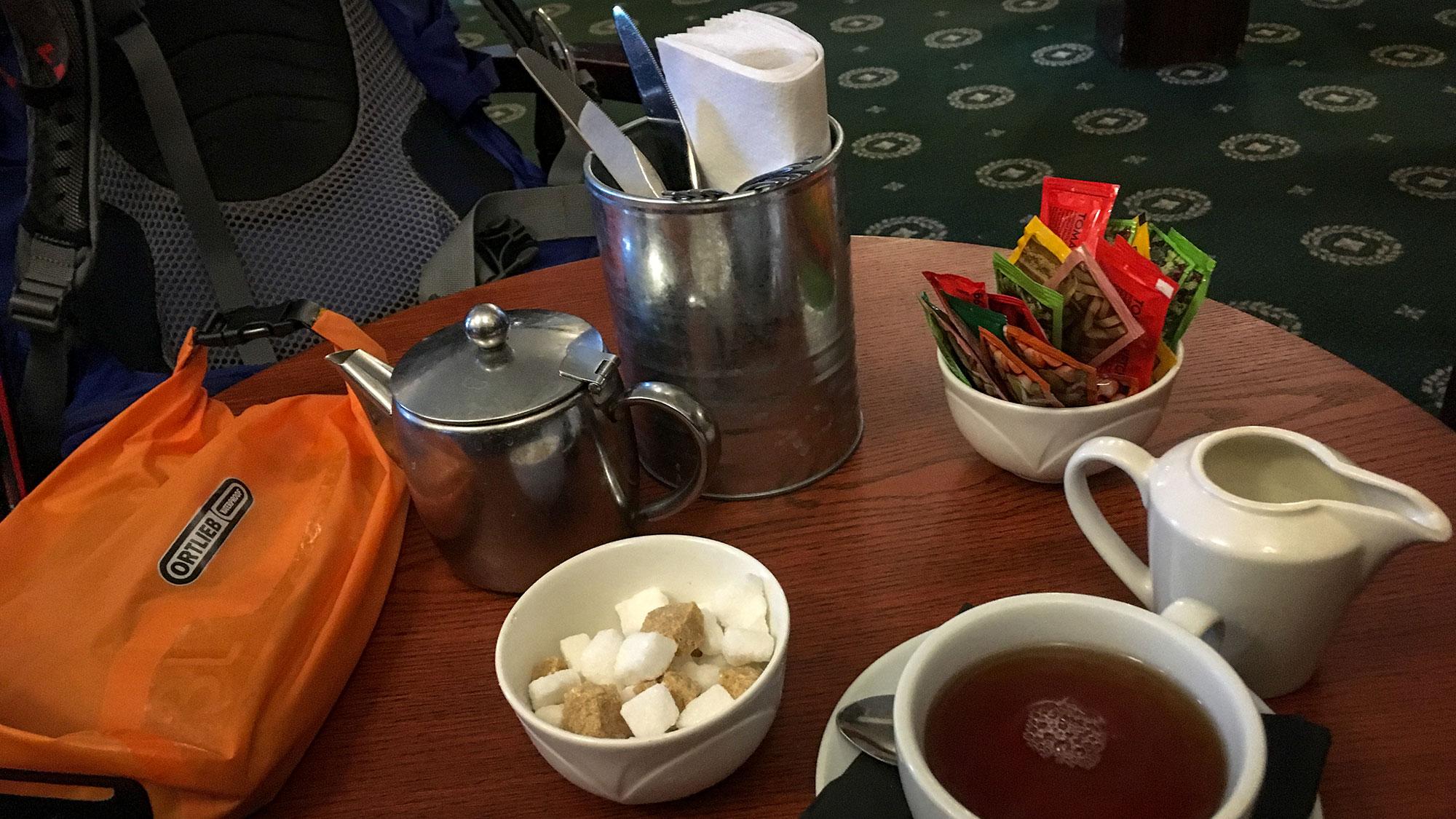 Teatime im Kenmore Hotel