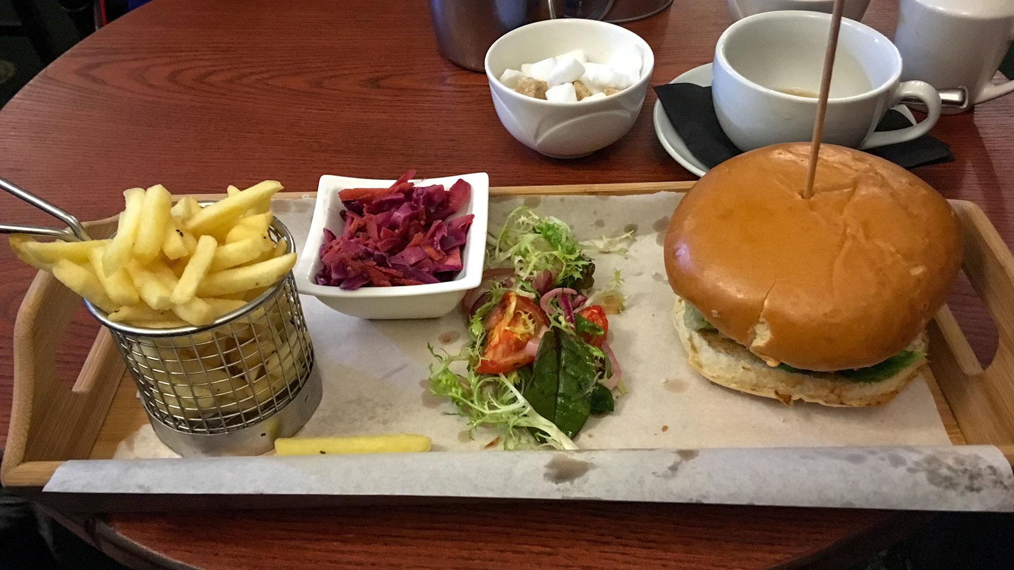 Burger im Kenmore Hotel