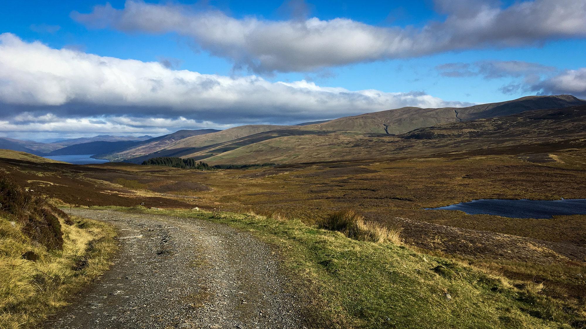 Abstieg Loch Tay
