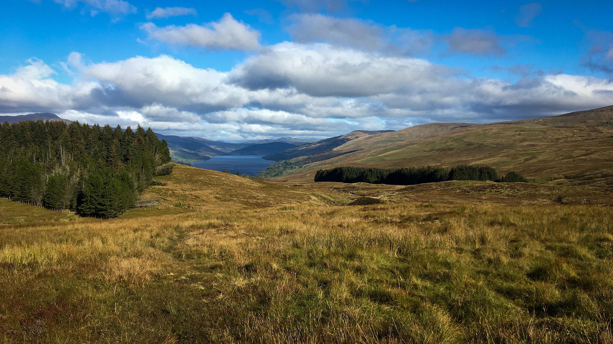 Loch Tay vom Newton Burn